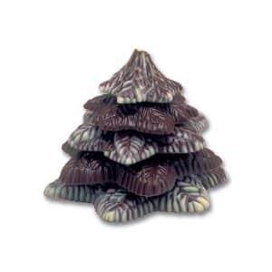 Moule à chocolat Sapin de Noël en relief - Matfer 381014